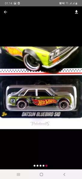 Hotwheels Datsun Bluebird 510 collector edition
