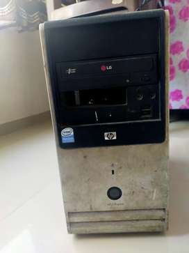 Hp cup, 2gb new ram, 200gb harddisk, lg dvd drive,