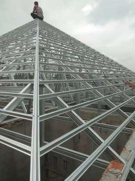 Ahlinya baja ringan, genteng metal pasir dan atap galvalume