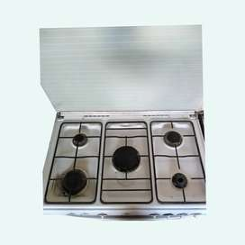 Imported Gas  Coking Range. And oven Electric