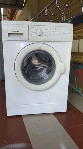 SIEMENS FULLY AUTOMATIC FRONT LOAD WASHING MACHINE
