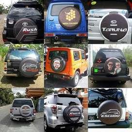 Cover/Sarung Ban Honda CRV/Rush/Terios/Panther Desain Sendiri Tebal Ku