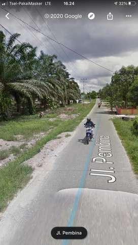 Tanah 7 Hektar Tepi Aspal Jalan Pembina IV - Rumbai
