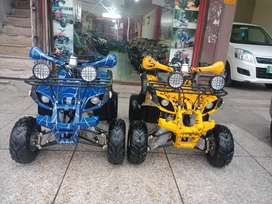 Box Packed 125cc Atv Quad 4 Wheels Bike Deliver In All Pakistan