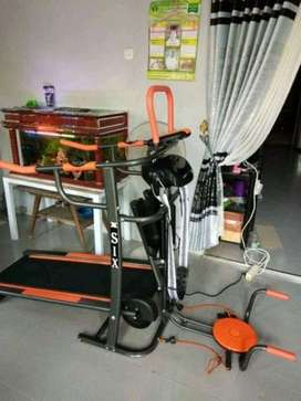 Barang Mall harga online treadmill manual 6 fungsi Mantabs // homegym