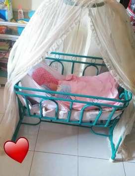 Ayunan bayi tempat tidur bayi