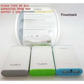 Powerbank Fleco 6600Mah