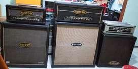 Sound ampli head cabinet