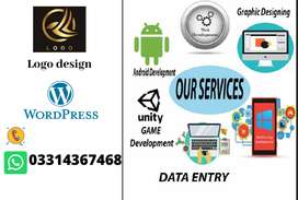I Will do creative graphics designing and web development.