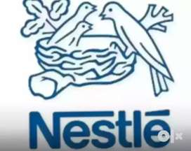Nestle Pvt LTD hiring candidates for above 12th base