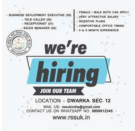 back office , sales managers
