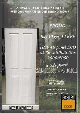 Jual pintu HDF murah berkualitas