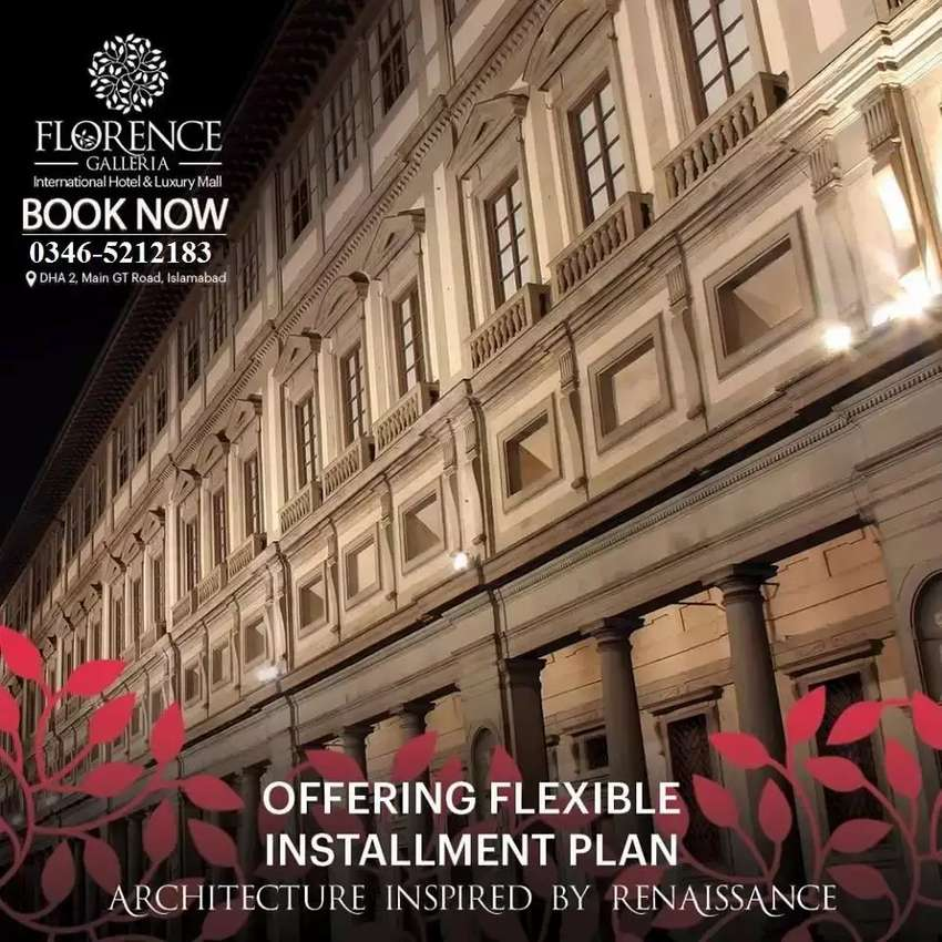 Best opportunity for investment Dha 2 florance hotel 0