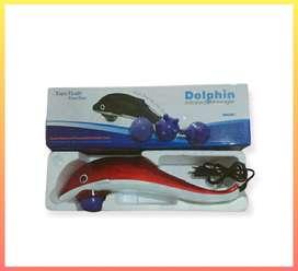 Paling Bagus Tongkat Dolphin Alat Pijat Refleksi Electrik 4 Mata JJ59