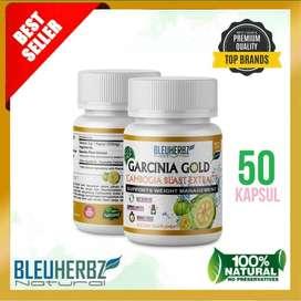Bleuherbz Garcinia Cambogia Obat Pelangsing Badan (Platinum Quality)