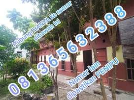 Dijual 4 buah rumah petak dibelakang MM