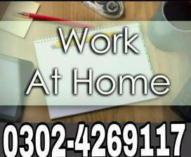 Homebase or Officebase Staff required for Male & Female