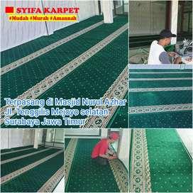 Karpet masjid halus bisa bayar setelah pasang