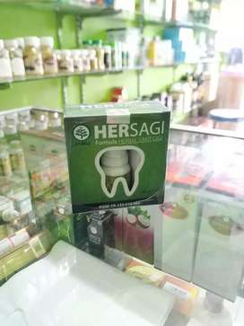HERSAGI formula herbal sakit gigi