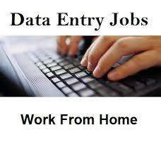 DATA ENTRY WORK HOME BASE