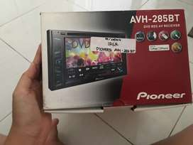 HU Pioneer AVH 285 bt, Amplifier Symbion dan Subwoofer merk Beat
