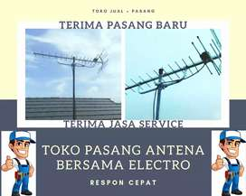 Jasa pusat pasang signal antena tv terdekat
