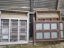 Assorted Wooden Doors and Windows