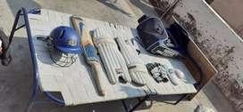 SM Cricket Kit with Nike Bat