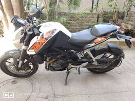 Ready to drive KTM Duke 200 as good as new.