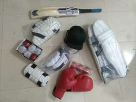 9 Hard balls and complete kit