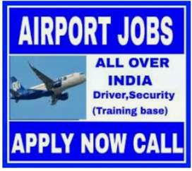 Hiring in airport jobs