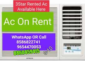 Rented Window Ac Available Here