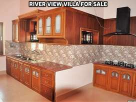 Luxury 3 BHK Duplex river view villa for sale in palakkad town