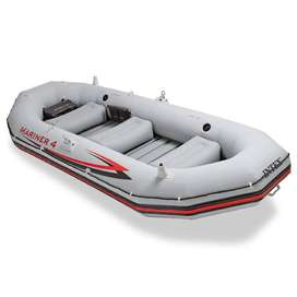 4-Person Inflatable Boat Set fishing and rafting