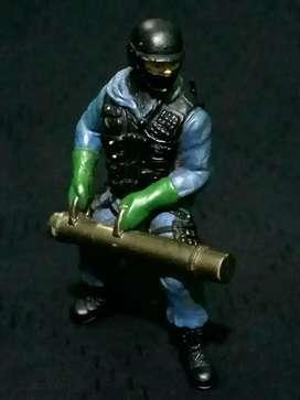Action figure SWAT, alan..