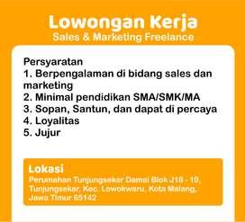 Freelance Sales dan Marketing