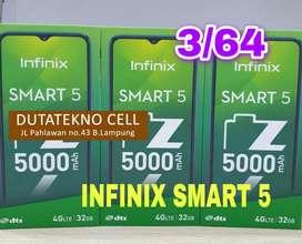 Infinix Smart 5 3/64 Garansi Resmi