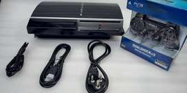 PS3 FAT 500 GB COMPLETE WITH 50 GAME WITH ALL NEW ACCESSORIES 10999/-