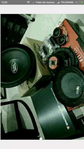 Promo 1 set audio subwoofer ultradrive, power swissline, 2way codia**