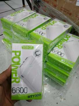 PB ROBOT 6600 MAH REAL CAPACITY