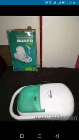 White And Green Nebulizer