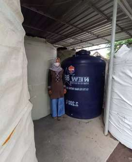 Toren Tandon 1100 liter bahan plastik
