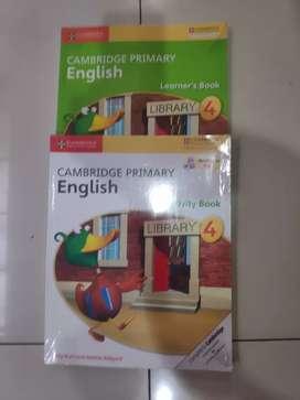 Cambridge Primary English Level 4 (2 buku)