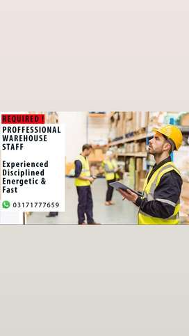 Warehouse Staff Required