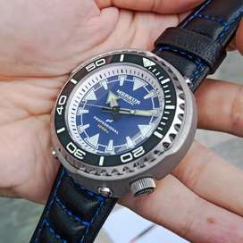 Jam Tangan MERKUR TUNA MONOBLOCK 1.000M Seiko NH35 Diver
