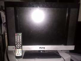 Tv LED 17 inch merk MITO normal nego bensin bisa cod