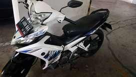 Yamaha Jupiter MX 2014 Putih (No Kopling) Tinggal Gasss