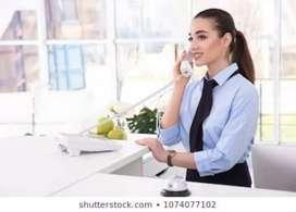 Receptionist requirement