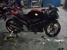 Yamaha R15, surat lengkap STNK BPKB, pajak hidup, full Orisinil