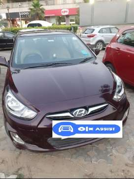 Hyundai Verna CRDi 1.6 SX Option, 2013, Diesel
